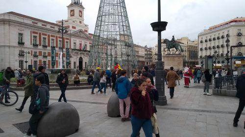 Madrids Hauptplatz Sol