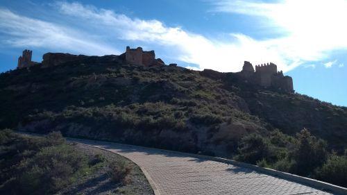 Ruine der arabischen Burg