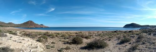 der Strand selbst