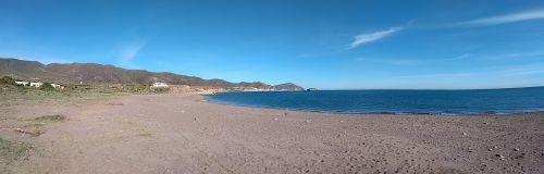 Panorama zum Strand