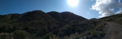 Wanderweg bergauf