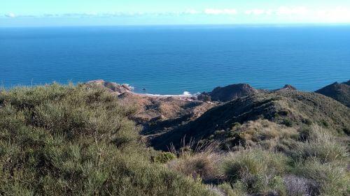 Blick auf die erste Bucht