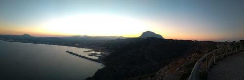 Blick über die Bucht von Xàbia